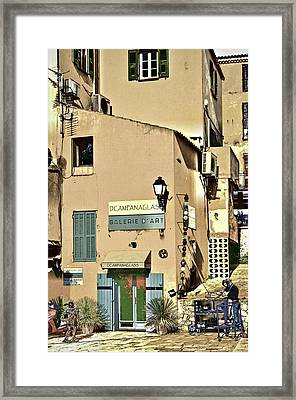 The Artist Framed Print by Maria Coulson