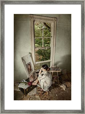 The Artist Framed Print by Tammy Swarek