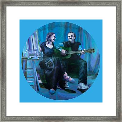 The Artists Framed Print by Shelley Irish