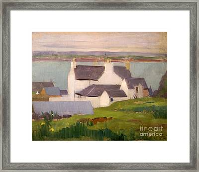 The Artists Studio Iona Framed Print by Francis Campbell Boileau Cadell