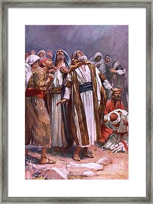 The Ascension Framed Print by Harold Copping