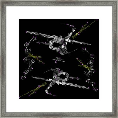 The Asian Influence Framed Print by Camille Lopez