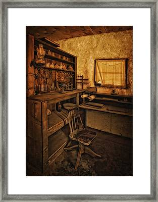 The Assay Office Framed Print by Priscilla Burgers
