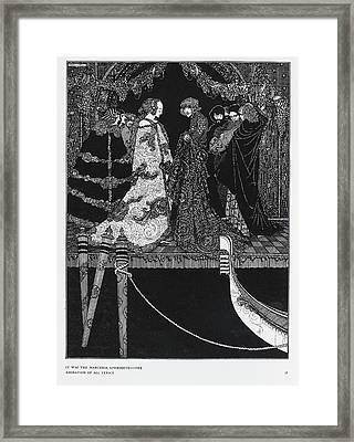 The Assignation Framed Print by British Library