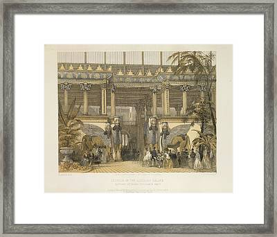 The Assyrian Palace Framed Print by British Library