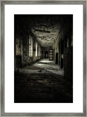 The Asylum Project - Corridor Of Terror Framed Print by Erik Brede