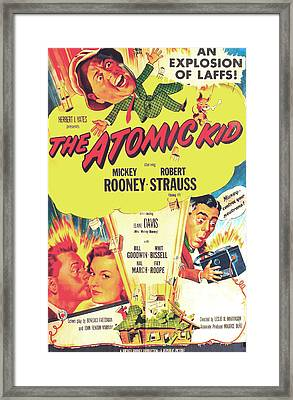 The Atomic Kid, Us Poster, Mickey Framed Print by Everett