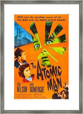 The Atomic Man, Aka Timeslip, Us Framed Print by Everett