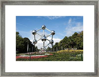 The Atomium Framed Print by Juli Scalzi