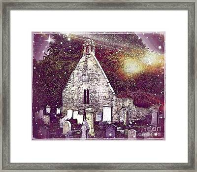 The Auld Kirk Alloway Scotland Framed Print by Janet Fraser Mckinlay