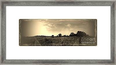 The Back Pasture Framed Print by Garren Zanker
