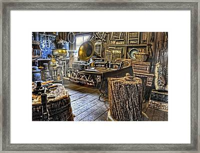 The Back Room Framed Print by Ken Smith