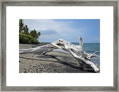The Bali House View Framed Print by Bob Hislop