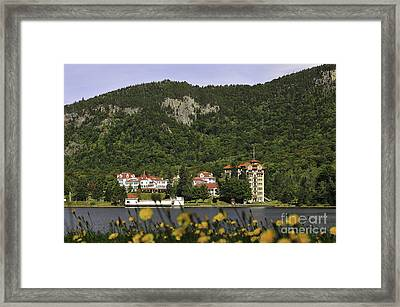 The Balsams Grand Resort Hotel  Framed Print by Catherine Reusch  Daley
