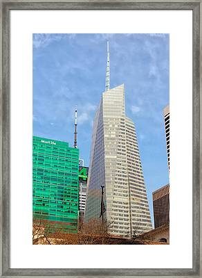 The Bank Of America Building Framed Print by Artistic Photos