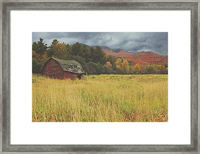 The Barn Framed Print by Carrie Ann Grippo-Pike
