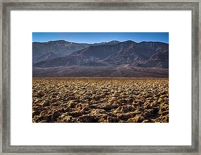 The Barren Land Framed Print by Matt Harvey