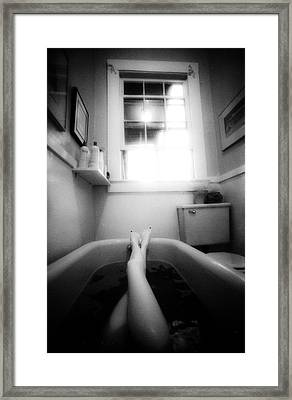 The Bath Framed Print by Lindsay Garrett