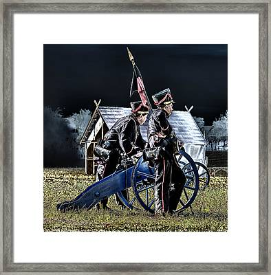 The Battle Of Dennewitz - Cease Fire Framed Print by Thomas Schreiter