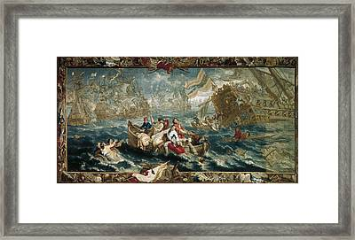 The Battle Of La Hogue, May 1692 Framed Print by Everett
