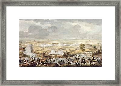 The Battle Of Marengo, 23 Prairial Framed Print by Antoine Charles Horace Vernet