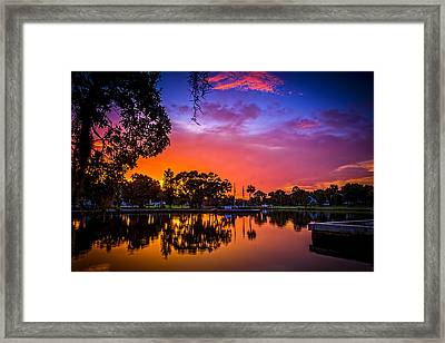 The Bayou Framed Print by Marvin Spates