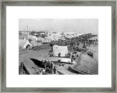The Beach At Nome, Alaska, Framed Print by Underwood Archives