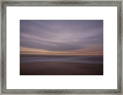 The Beach Framed Print by Peter Tellone