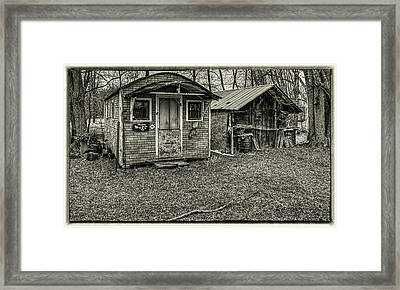 The Bear Pen Framed Print by Thomas Young