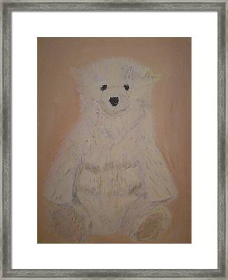 The Bear Framed Print by Rob Spencer