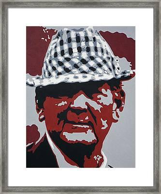 The Bear Framed Print by Steve Cochran