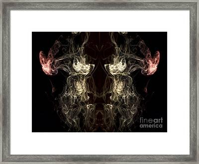 The Beast Framed Print by Edward Fielding