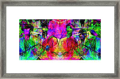 The Beatles 20130615 Framed Print by Wingsdomain Art and Photography