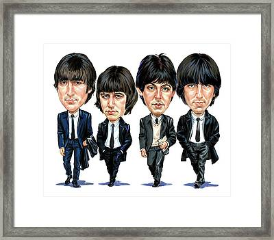The Beatles Framed Print by Art