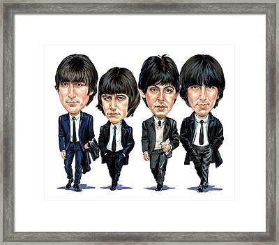 The Beatles Framed Print by Art