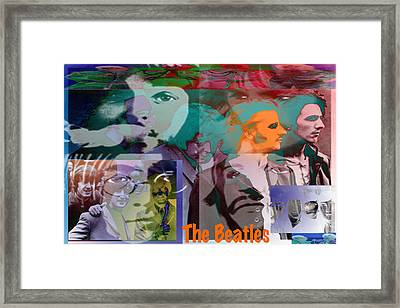 The Beatles Framed Print by Jimi Bush