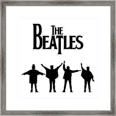 The Beatles No.06 Framed Print by Caio Caldas