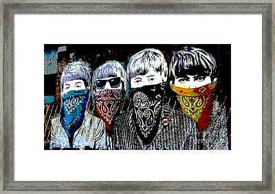 The Beatles Framed Print by RicardMN Photography