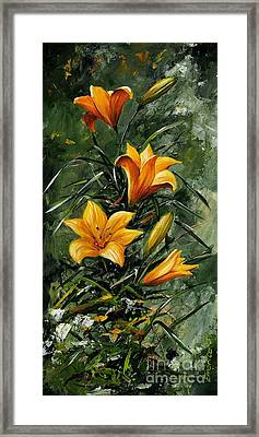 The Beauty Flower 06 Framed Print by Emerico Imre Toth