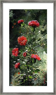 The Beauty Flower 08 Framed Print by Emerico Imre Toth