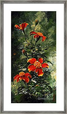 The Beauty Flower #10 Framed Print by Emerico Imre Toth