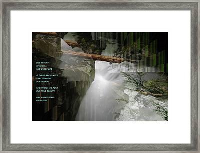 The Beauty  Framed Print by Jeff Swan
