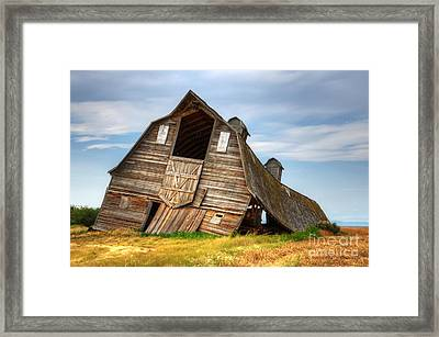 The Beauty Of Barns  Framed Print by Bob Christopher