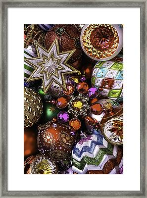 The Beauty Of Christmas Framed Print by Garry Gay