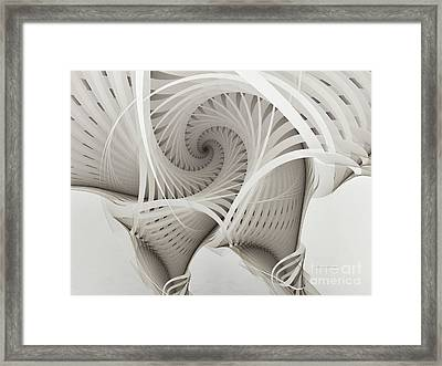 The Beauty Of Math-fractal Art Framed Print by Karin Kuhlmann