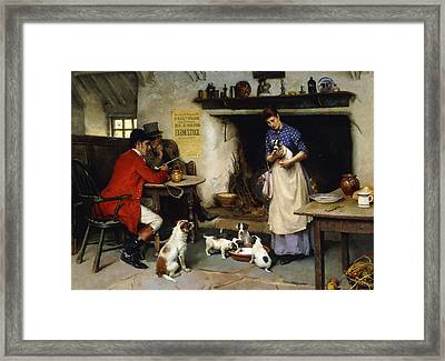 The Beauty Of The Family Framed Print by Leghe Suthers