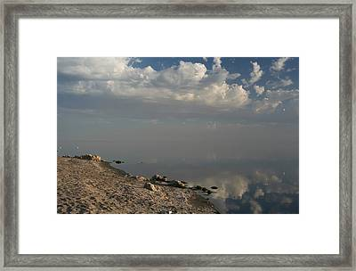 The Beginning And The End Framed Print by Laurie Search