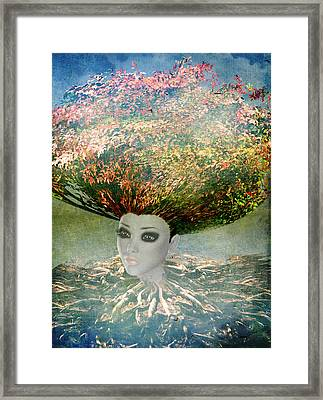 The Beginning Framed Print by Terry Fleckney