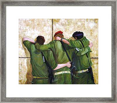 The Believers Framed Print by Doris Cohen
