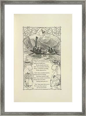 The Bell Framed Print by British Library